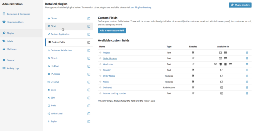 The custom fields plugin just became more useful