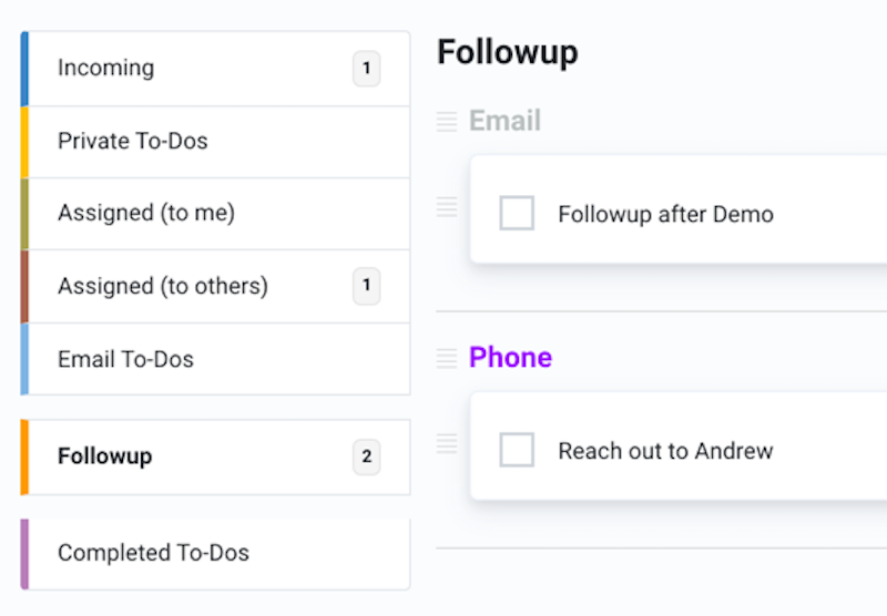 Helpmonks To-Do lists with Groups