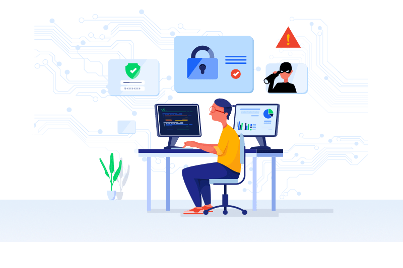 Your security and privacy in Helpmonks